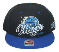 Orlando Magic 47 Brand Tricky Lou NBA Snapback Hat -Black/Blue