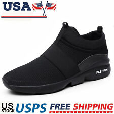 Men's Running Casual Shoes Lightweight Breathable Comfortable Tennis Sneakers