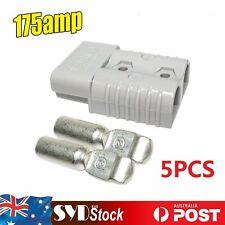 5 x 175AMP Car Truck Caravan Winch Quick Plugs Connector Exterior Power DC Kit