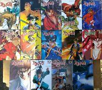 Lote 14 Manga Yongbi Mein Chong-Hu Tomos 1 De 14 Tokebi