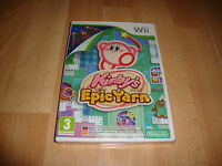 KIRBY'S EPIC YARN KIRBY RVL-RK5P-EAP PARA LA NINTENDO Wii NUEVO PRECINTADO