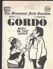The Menomonee Falls Guardian #123 October 27 1975- GORDO