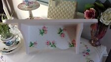 WOODEN WALL STORAGE SHELF MADE WITH CATH KIDSTON DESIGN BATHROOM BEDROOM HOME