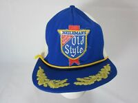 Vintage Snapback Trucker Hat Cap Old Style Beer Patch