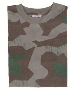 T-Shirt tarn WH splinter, Camping, Outdoor, Military -NEU-