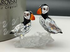 Swarovski Figurine Puffin 3 1/8in with Packaging and Certified