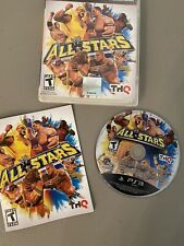 WWE All Stars (Sony PlayStation 3 PS3, 2011) Complete