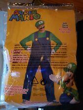Super Mario Bros. Luigi Costume Size  XL