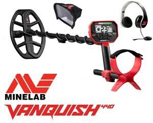 Minelab Vanquish 440 Metalldetektor + Kopfhörer & Elecktronic-Schutz