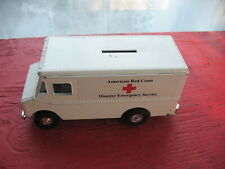 ERTL 1993 STEP VAN MONEY BANK  AMERICAN  RED  CROSS DISASTER EMERGENCY SERVICE