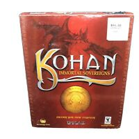 Kohan  Immortal Sovereigns PC Game Big Box Strategy First Time Gate