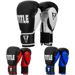Title Boxing Dynamic Strike Hook and Loop Heavy Bag Gloves