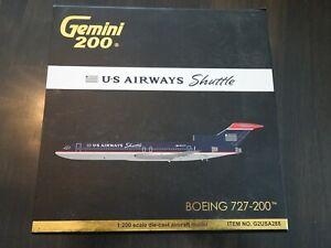 Gemini US Airways Shuttle, Boeing 727-200, G2USA288, 1:200 Scale Die-cast Plane