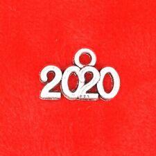 20 x Tibetan Silver Year of 2020 New Year Charm Pendant Beading Making