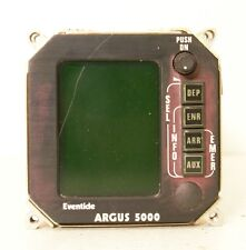 Eventide Avionics Argus 5000 Moving Map Indicator W/ Tray Mods 5000-10-15 (AR)