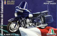 Italeri Moto Guzzi V7 V 7 Arma dei Catabinieri Polizei Motorrad 1:9 Art. 4639