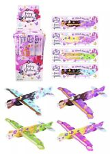 8x Fairy Gliders Party Bag Favours Gifts Stocking Fillers Girls Planes Flying UK