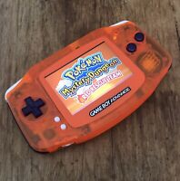 Nintendo Gameboy Advance Orange Purple GBA AGS-101 Handheld Console BACKLIT IPS