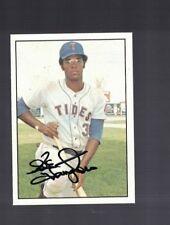 Ike Hampton New York Mets 1975 SSPC Autographed Baseball Card W/COA