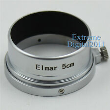 New Metal Lens Hood for Leica Leitz Elmar 5cm 50mm f/3.5 1:3.5 M39 Lens