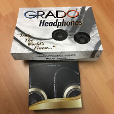 Grado Labs Prestige Series SR125i Headphones NEW with GENUINE NEW case