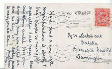 Genealogy Postcard - Family History - Lockhart - Leamington   BH4671