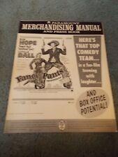 FANCY PANTS(1962)BOB HOPE LUCILLE BALL ORIGINAL PRESSBOOK