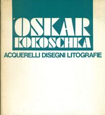 KOKOSCHKA Oskar, Oskar Kokoschka. Acquerelli disegni litografie