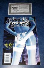 JENNIFER BLOOD #3 signed 1:25 virgin variant TIM BRADSTREET DYNAMITE COMIC COA