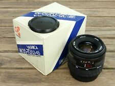 Yashica AF 35~70mm f3.3~4.5 Macro Zoom Lens - Superb and Boxed