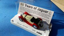 "Solido 4002 - JAGUAR SS 100 série limité "" 50 Years of Jaguar"" 1:43"