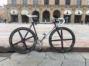 Bicicletta Colnago Carbitubo Vintage Wheels spinergy shimano tricolor