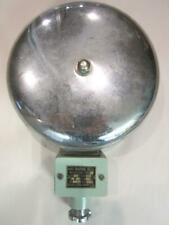"""Vintage Electric 8"""" Marine Ship Bell Wall Mount Water Tight Boat Dock Maritime"""