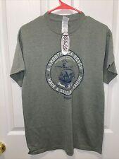 kerusso T-shirt Smooth Sailor Men's Med James 1:12 Good News OD Green