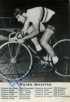 Ciclismo - Autografo di Guido Messina (Monreale, 1931)