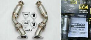 "1320 Performance resonated V2 for 370Z G37 VQ37HR VQ35HR 350Z Q50 Q60 MF 3"" HFC"