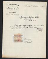 """PARIS (XI°) BAZAR """"AUX FABRICANTS REUNIS / SIMONET & Cie"""" en 1920"""