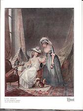 Ladies Period Dress. Beautiful Scarce print. 1918