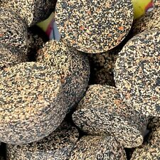 """Cork Rings 10 Mixed Grain Rubberized #15, 1 1/4"""" x 1/2"""" Solid Blowout!"""