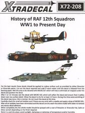 Xtradecal 1/72 The History of 12 Escadron 1915-2014 # X72208