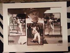 Don Bradman Limited Edition Print Collectors Prints