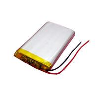 3.7V 2200mAh Li-Po Rechargeable Battery Li Polymer Cell For PSP LED GPS 803160