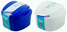 DENTURE BATH WITH INNER TRAY Rinsing Denture Box Dental Retainer Teeth Container