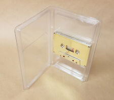 50 Clear Vinyl Audio Cassette Albums - New Stock