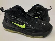 """RARE Nike Air Total Max Uptempo LE """"Black Volt"""" Size 12 Green Kryptonate Lot"""