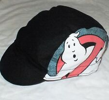 CYCLING CAP HAT VINTAGE RETRO 80s GHOST BUSTERS ONE SIZE COTTON UK HANDMADE E196