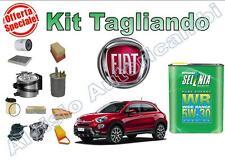 KIT TAGLIANDO OLIO SELENIA WR 5W30 + FILTRI FIAT 500X 1.6 MTJ 120 CV 2014 -->