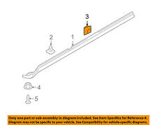 HYUNDAI OEM 00-07 Accent REAR DOOR-Body Side Molding Clip 8775635000