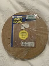 New listing Band It 7/8 in. W x 250 ft. L Red Oak Iron On Real Wood Veneer Edging