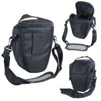 Waterproof Triangle Camera Bag Case Backpack for Canon Nikon SLR DSLR